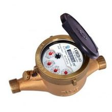 Multi jet liquid filled(semi dry) type water meter