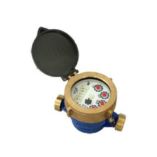Single Jet Wet Type Vane Wheel Water Meters(brass)