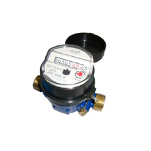 Single Jet Dry type Water Meter(incline 8rollers,brass)