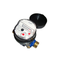 Single Jet Dry type Water Meter(incline-7rollers,brass)