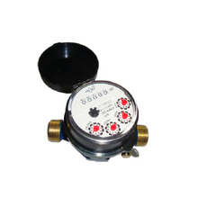 Single-jet Super Dry Cold Water Meter(5rollers,brass)