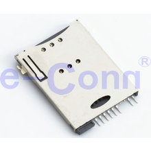 SD Memory Card,SIM Push Card Connector Socket Smart Card