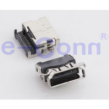 HDMI Socket 19 Pin Right Angle Female HDMI Connector