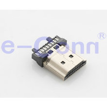 HDMI Socket Adapter 19 Pin Solder Type Male HDMI Connector