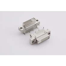DVI Digital Audio Video Female Right Angle Dip Connector