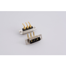 3V3 Coaxial, Power Connector, Right Angle 3 Pin Male Medical