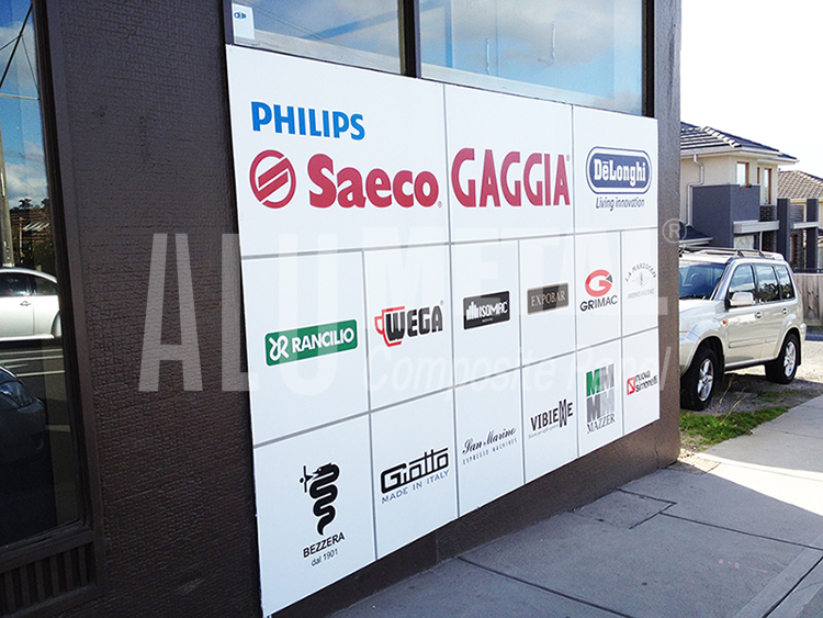 product sign board panels acp for exterior decoration aluminium composite panel composite