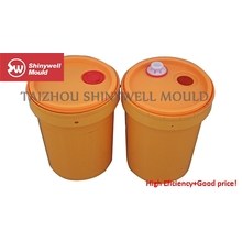 20 Liters lubricant bucket injection mould