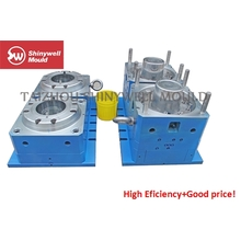 2 cavities 10L plastic paint bucket injection mould