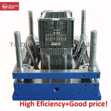25kgs plastic crate injection mould