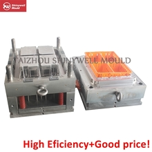 plastic chicken-feeding crate mould