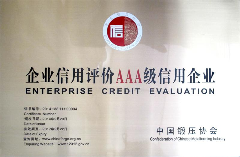 Credit rating plaque
