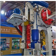 high precision crankshaft press for non-ferrous metal forging