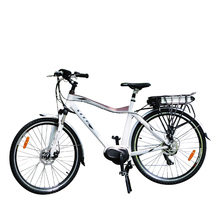 700c torque sensor mid drive motor mountain electric bicycle