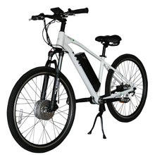 Shaft driven without chain electric bicycle