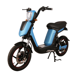 classical electric scooter with pedal