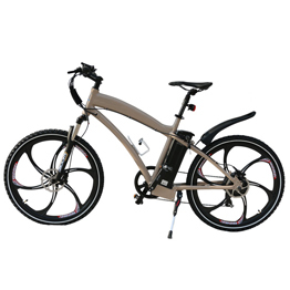 26 inch magnesium alloy motor wheel mountain electric bike