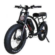 20 inch comfortable seat beach curise harley fat tire electric bike