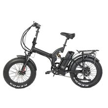 20 inch full suspension frame fat tire electric bike
