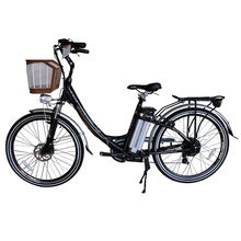 classical 26 inch women city ebike with basket HP-E006