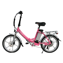hot selling to germany 6 spoke aluminum alloy motor wheel folding electric bike