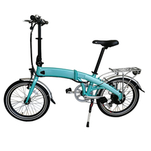 17kg light weight portable 20 inch mini folding electric bicycle