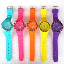Silicone Quartz Men Watch
