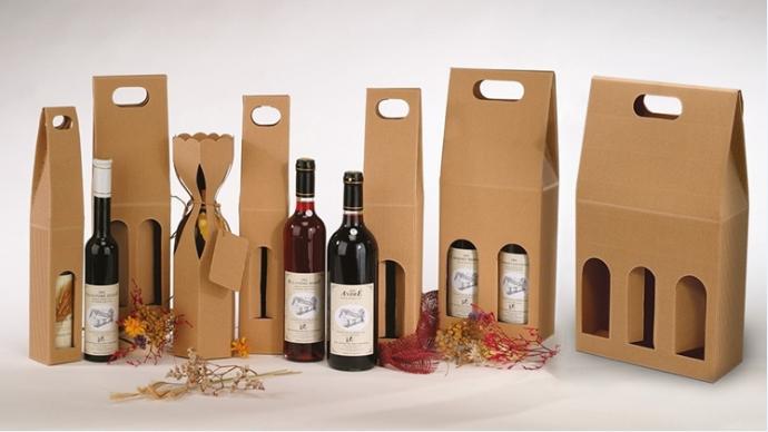 Необычная упаковка для вина своими руками 55