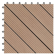 Interlocking tile WPC