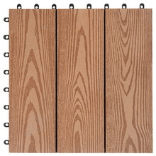 WPC eco deck tile interlocking