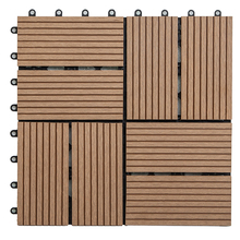 WPC interlocking deck