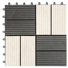 WPC interlocking tile