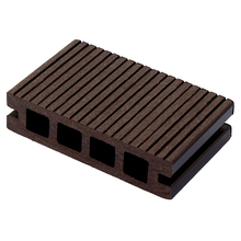 Anti aging composite plastic wood wpc eco hollow decking