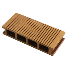 Eco friendly WPC extruded grooved hollow durable deck