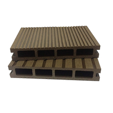 Eco friendly WPC extruded wood plastic walkway