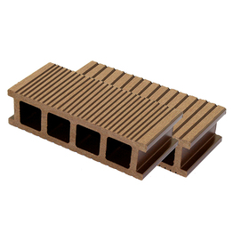 Home and garden extruded wood plastic adjustable deck