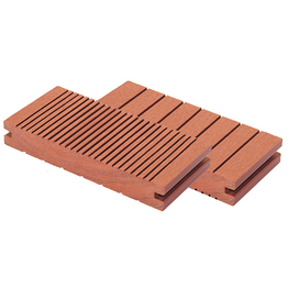 Solid WPC extruded anti slip floor planks