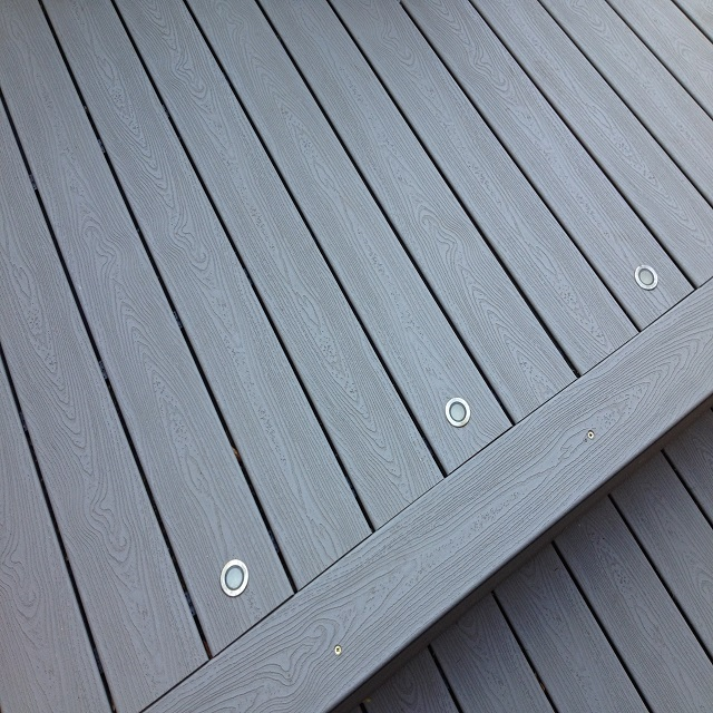 wpc grained decking