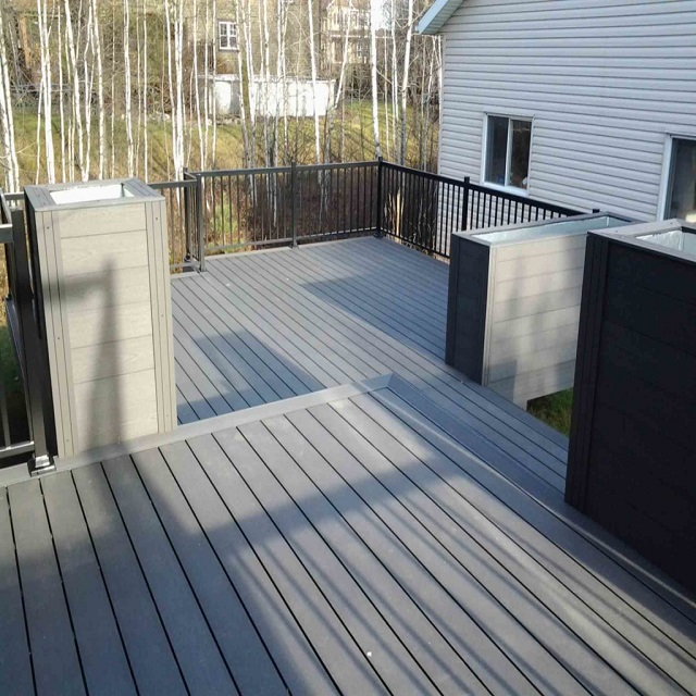 harsh weather resistant decking