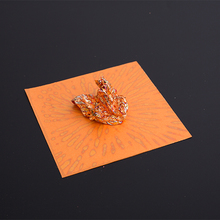 pure copper leaf