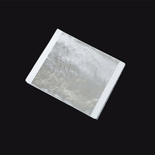 Shining Silver leaf sheets for Arts,giding crafting, ceiling,furniture decoration 14*14cm