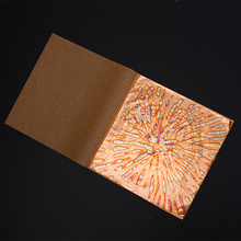 Imitation Gold Leaf Booklets  the copper leaf