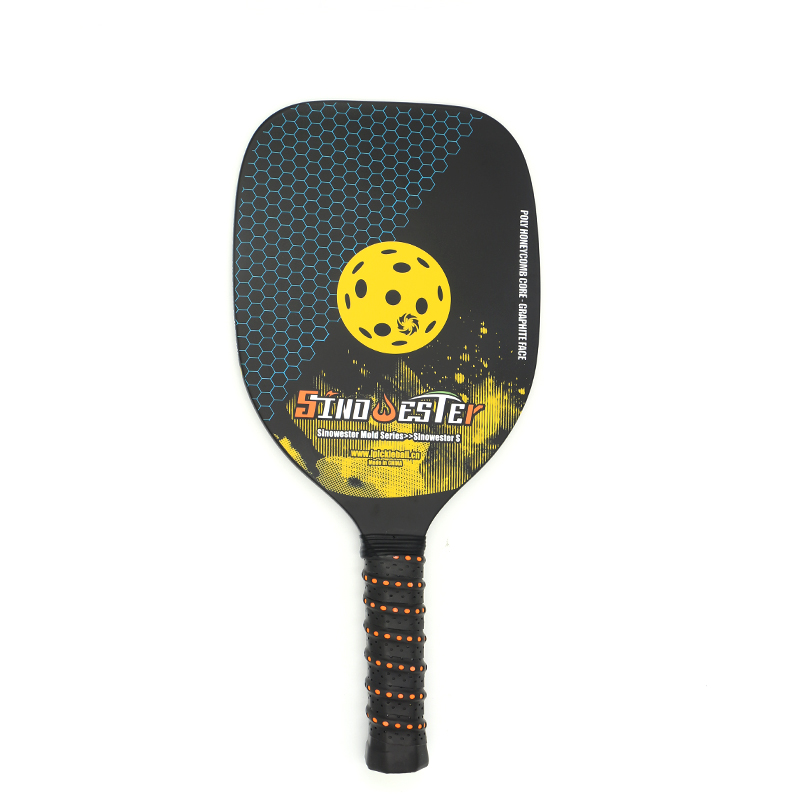 Training Pickelball Paddle Poly Honeycomb Core Rimless
