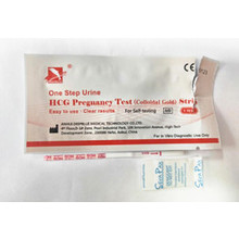 HCG early pregnancy rapid test strip ( colloidal gold )