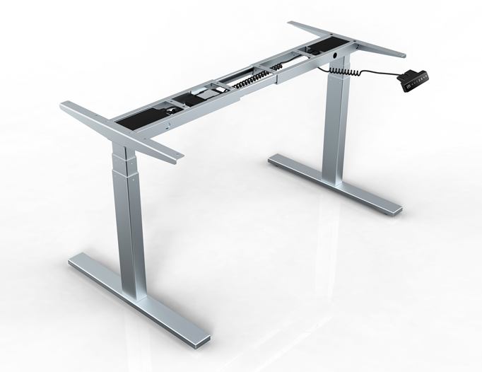 Product dual motor electric stand up desk a7 height Motorized table