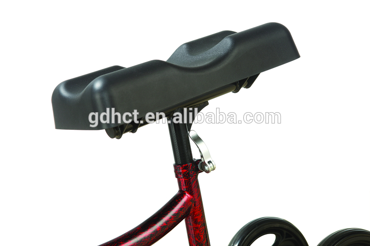 Healthcare Foldable Handicap Knee Support Scooter Steel