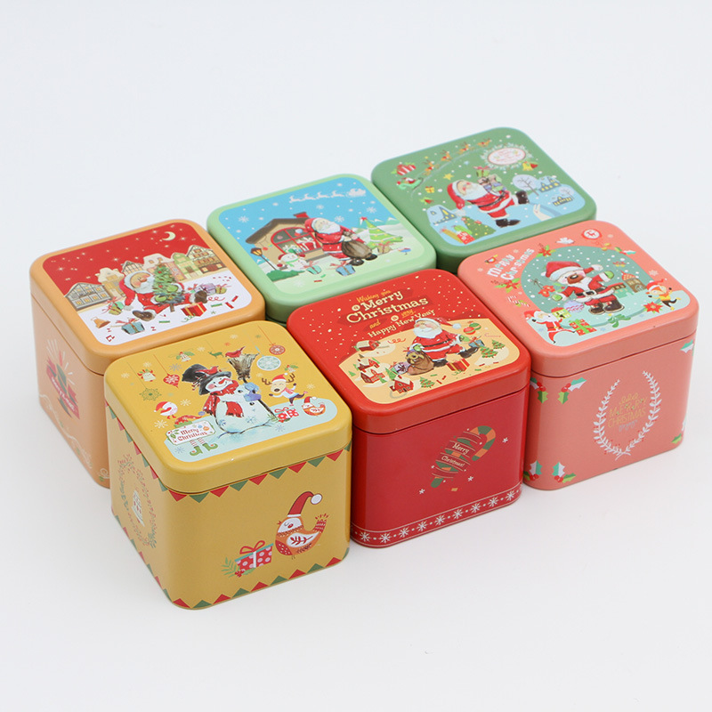 Christmas gift tins for cookies