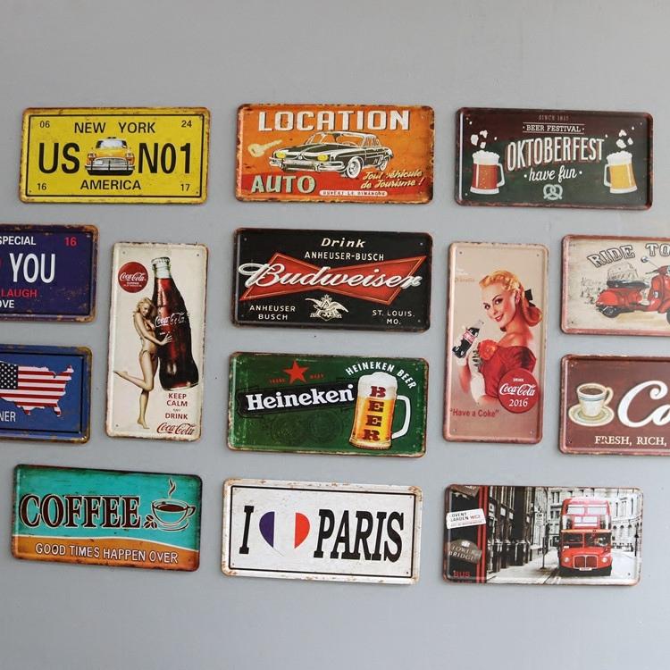 1950s Toys Metal Curtain Wall : Retro metal zeichen zinn zum verkauf