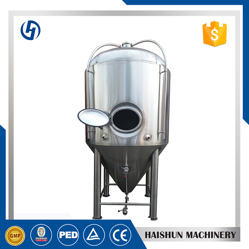 cylindro conical fermenter   cold liquor tank
