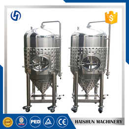 stainless steel wine fermenter   hot liquor tank brewing